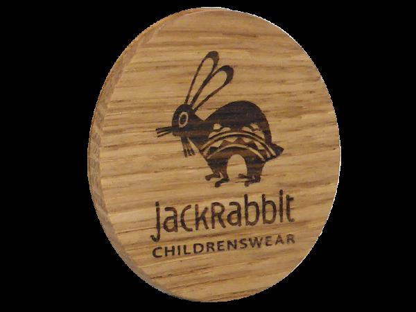 Solid Oak Promotional Badge