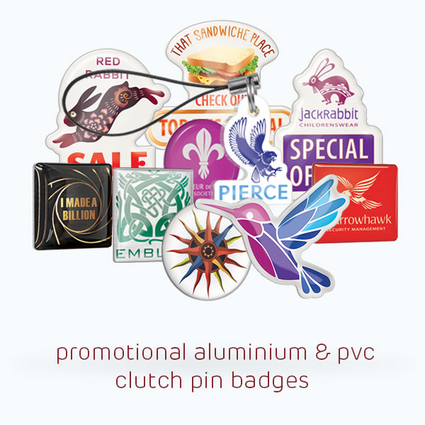 clutch pin badges